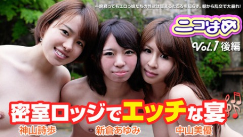 Nikohame Vol.1 - Sex Party in the Private Lodge - Part3