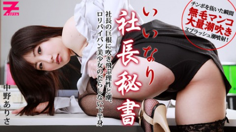 Arisa Nakano: the Dirty Secretary's Amazing Spray